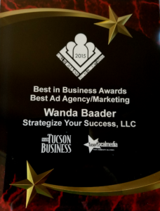 Award 2015 Best in Business